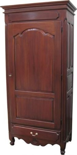 Single Louis Philippe Armoire in Mahogany